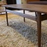 Rectangle top low table / Walnut