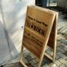 Signboard / 木の看板
