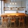 order iron table / アイアンフレ-ムのテ-ブル
