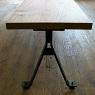 order iron bench / アイアン脚のベンチ