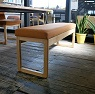 canvas bench / 帆布のベンチ
