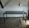 plywood top and iron frame desk / プライウッド天板とアイアンフレ-ムのデスク