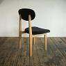 order dining chair / オ-クのダイニングチェア