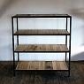 iron shelf / 楢とアイアンのシェルフ